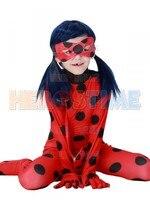 Miraculous Ladybug Girls Halloween Tight Cosplay Costume