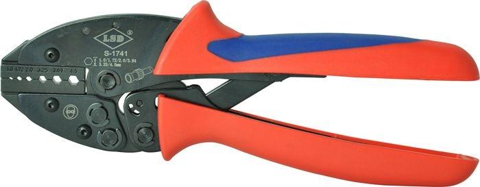 Coax terminal crimping tools S-1741 fiber optic crimping press pliers