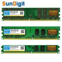SunDigt DDR2 800 PC2 6400 5300 4200 1GB 2GB 4GB Desktop PC RAM Memory Compatible DDR