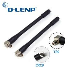 Antena de dlenp 3g/4g com opções do conector ts9/crc9 1920-2670 mhz para o modem 3 dbi de huawei