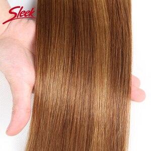 Image 4 - מלוטש רמי שיער ברזילאי יקי ישר שיער טבעי חבילות 1 pc פסנתר P4/30 # P1B/27 # P6 /27 # שיער Weave חבילות הרחבות 113 גרם