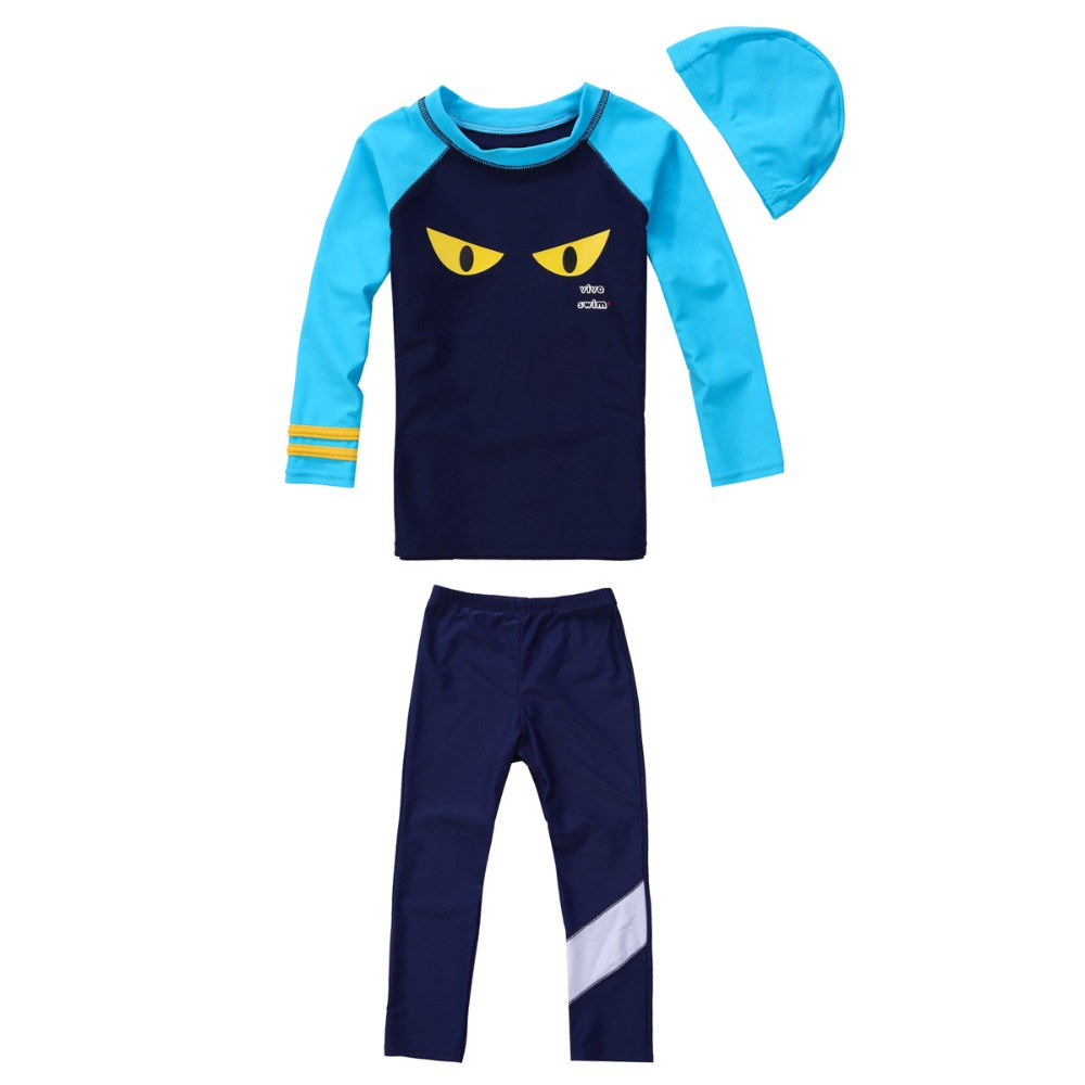 691ada4b8b Long Sleeve Toddler Boy Swim Shirts