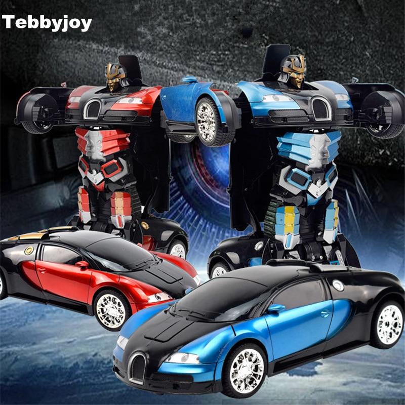 RC Cars juguetes Control remoto Transformación Robots juguetes - Juguetes con control remoto