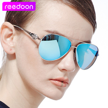 2016 ReeDoon Brand Polarizing Sunglasses Summer Style Alloy Frame Women s Sun Glasses 5 colors oculos