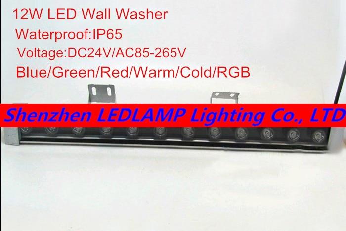50cm 12W High-power LED strip light /12W LED Wall Washer light Blue/Green/Red/Warm/Cold/RGB/ LED landscape / decorative lighting цены онлайн
