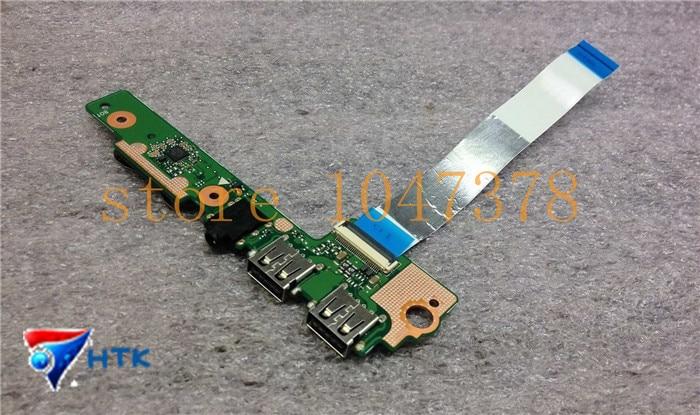 ФОТО original FOR Asus S500CA Audio Jack USB Card Reader w Cable 69N0NUB11A00-01 60NB0060-IO2000