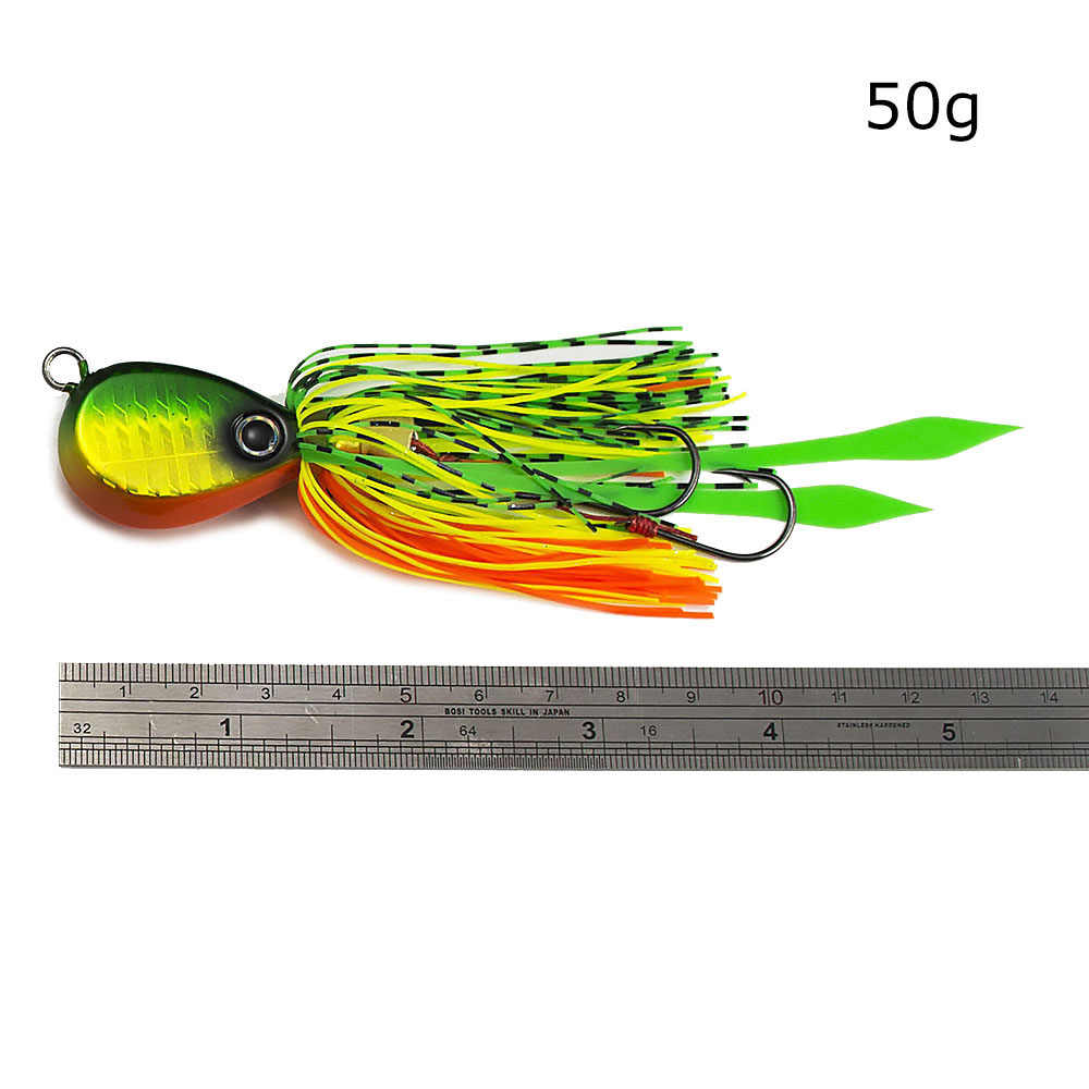 Countbass 50G 1.76 Oz Madai Jig Ikan Kakap JIGGING Umpan untuk Memancing Asin Karet Squid Jigs