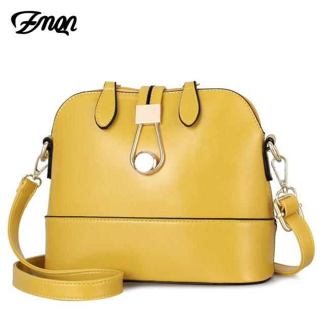 ZMQN נשים Crossbody תיקי עור מעטפת צהוב שקיות קטן אופנה גבירותיי תיק יד לנשים 2019 בנות צד Bolsa Feminina a534