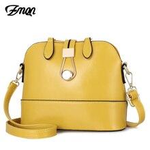 ZMQN Для женщин Курьерские сумки кожа основа Сумки Маленькая Леди желтый Мода Креста тела милый мешок для Для женщин милые девушки сбоку Sac A534