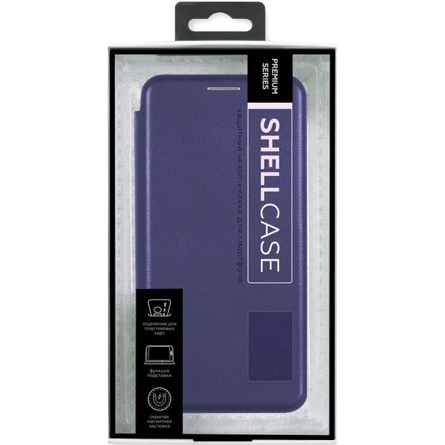 Чехол-книжка Smarterra ShellCase для Huawei P30 Pro (PU,фиолетовый)