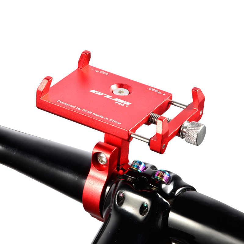 GUB PR01 Универсальный велосипед Телефон Стенд Алюминий Велосипедный Руль держатель для iPhone Samsung Nokia Велоспорт Интимные аксессуары
