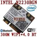 Intel2230 Centrino wireless-N2230 Wlan + Bluetooth 4.0 mini pci прибытие-e комбо Karte 300 м wifi + 4.0BT