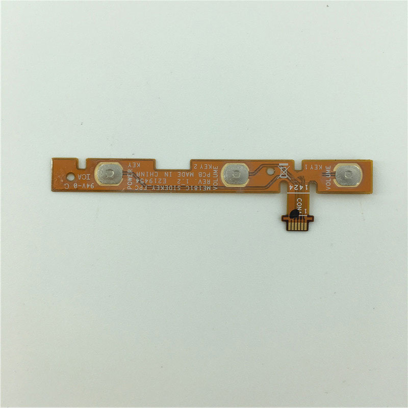 Switch On Off Volume Button Key Switch Flex Cable Ribbon Replacement Parts For ASUS Memo Pad 8 ME181C_SIDEKEY_FPC REV.1.2
