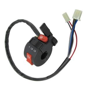 Image 4 - 22mm Left Handlebar Kill Control Choke SwitchKill Light Starter Choke Switch Assembly for 50cc 70cc 90cc 110cc 125cc ATV Quad