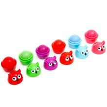 Neue 7 farben Eule Feuchtigkeitscreme Süße Make-Up Lipbalm, Labialen Glair, Süße Tast Lippen, Kosmetik Lippen Farbe, lippenstift, Lipgloss,Lip Fleck