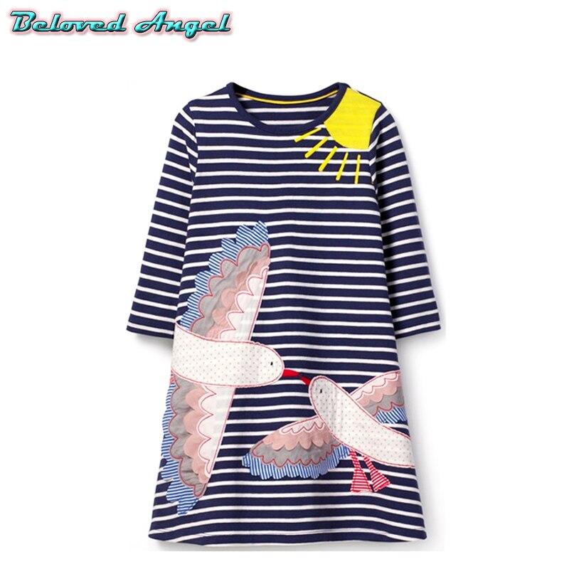 b52784e913b156a Платье для малышей от 1 до 6 лет, платье принцессы для девочек, детские  платья