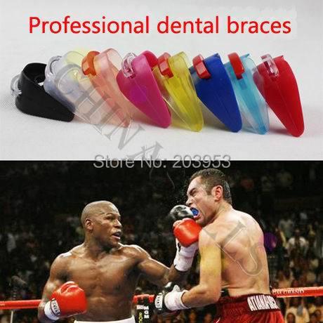Promotional sport karate kickboxing dental braces basketball dental care boxing sports mouthguard sanda basketball dental braces