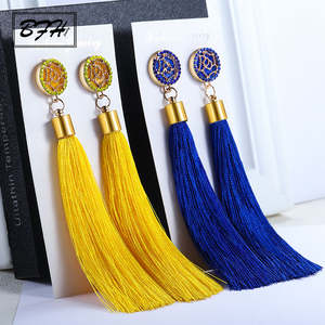 BFH Vintage Long Tassel Earrings for Women Jewelry