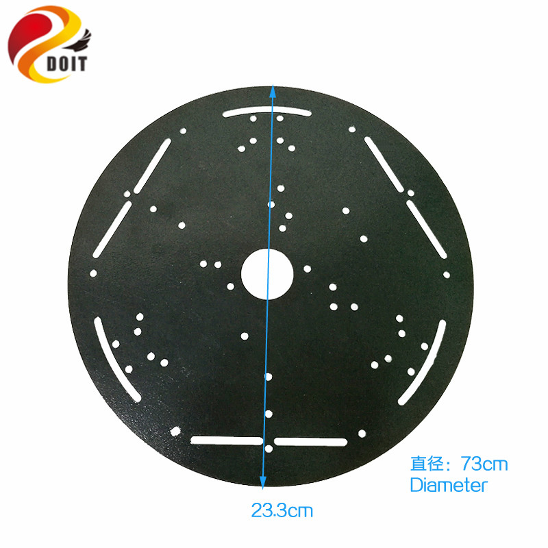 23cm High Hardness Steel Panel Tank Frame Chassis Plate Metal Chassis Robotic Car Remote Platform Diy Toy Parts Beneficial To The Sperm