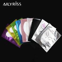 20/50/100 pairs remendo de papel de extensão de cílios enxertado olho adesivos cílios sob almofadas de olho lint livre hidratação remendos de papel de olho