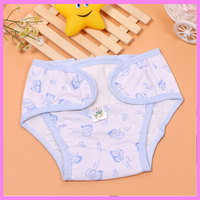 Washable Newborn Baby Cloth Diapers Waterproof Infant Underwear Nappy Changing Happy Flute Cloth Diaper Cover Baby