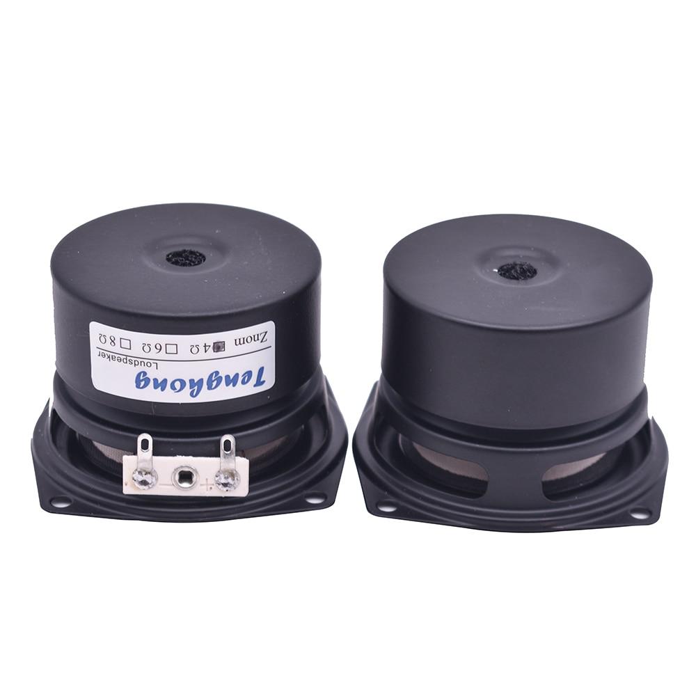 Image 5 - Tenghong 2pcs 2.5 Inch HIFI Audio Speaker 4/8Ohm 8 15W Full Range Desktop High Sensitivity Bass Midrange Treble Loudspeaker DIYBookshelf Speakers   -