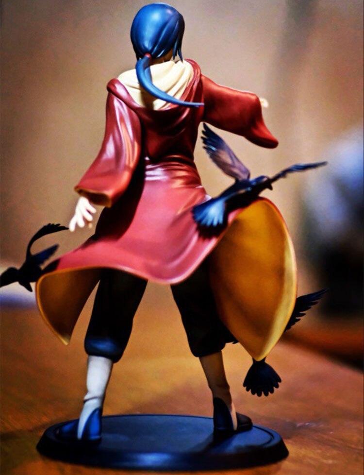 Naruto Uchiha Itachi 1/8 Scale Painted Figure Uchiha Itachi Brinquedos Anime PVC Action Figure Collectible Model Toy 17cm  2018 1
