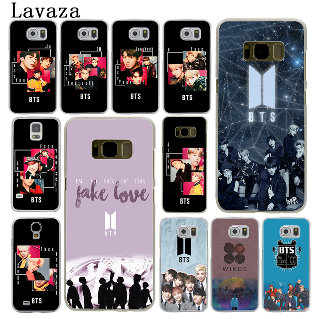 uk availability 4e049 80ee4 US $1.99 22% OFF|Lavaza Bangtan Boys Face Yourself Fake Love BTS Hard Phone  Case for Samsung Galaxy S10 E S10E S8 S9 Plus S6 S7 Edge Cover-in ...