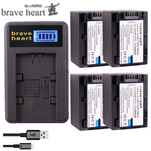 bateria 2500mAh NP-FV70 NP FV70 NPFV70 batteries + LCD USB Charger for Sony NP-FV50 FV30 HDR-CX230 HDR-CX150E HDR-CX170 CX300 Z1
