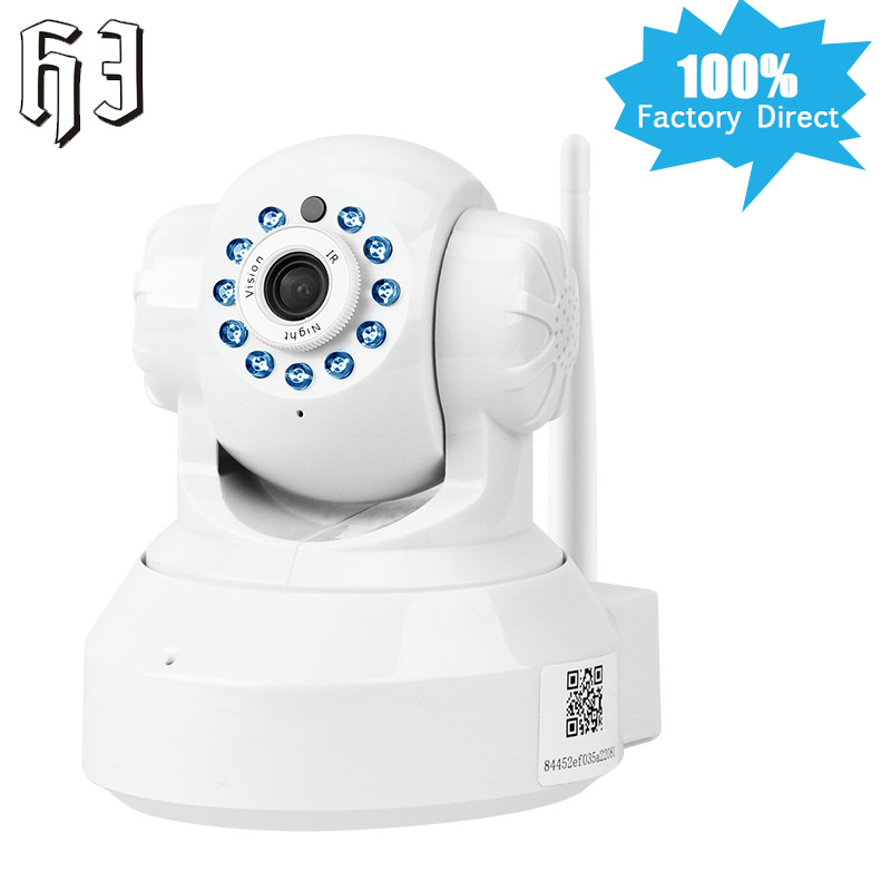 HJ Wireless IP Camera Baby Monitor HD 720p Smart Home Security Video Surveillance Wifi Network CCTV Two way Audio Wi-fi Indoor annke mini hd 720p smart wireless pt security camera 1 0mp indoor ip camera wifi baby monitor 720p cctv surveillance camera