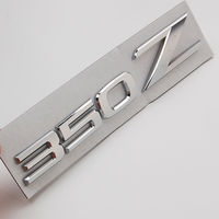 Auto Car Chrome 3D Silver ABS 350Z For Z Z33 GTS GT Emblem Badge Decal Sticker