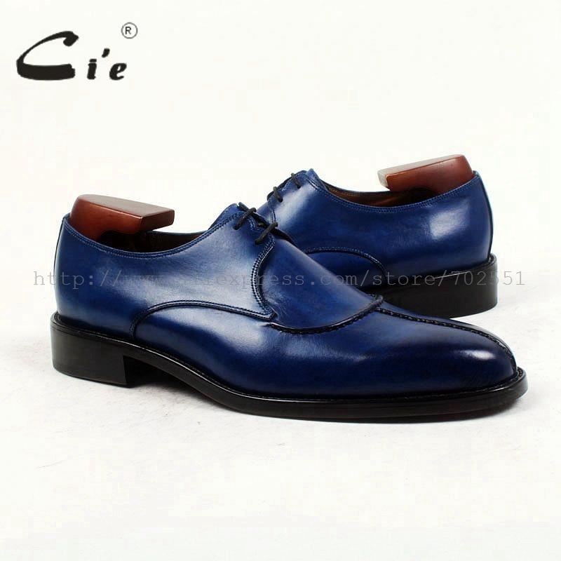 Cie Ronde Neus Bespoke Mannen Lederen Schoen Custom Handgemaakte Mannen Schoen 100% Echt Kalfsleer Zool Ademende Lederen Schoen D132-in Casual schoenen voor Mannen van Schoenen op  Groep 1