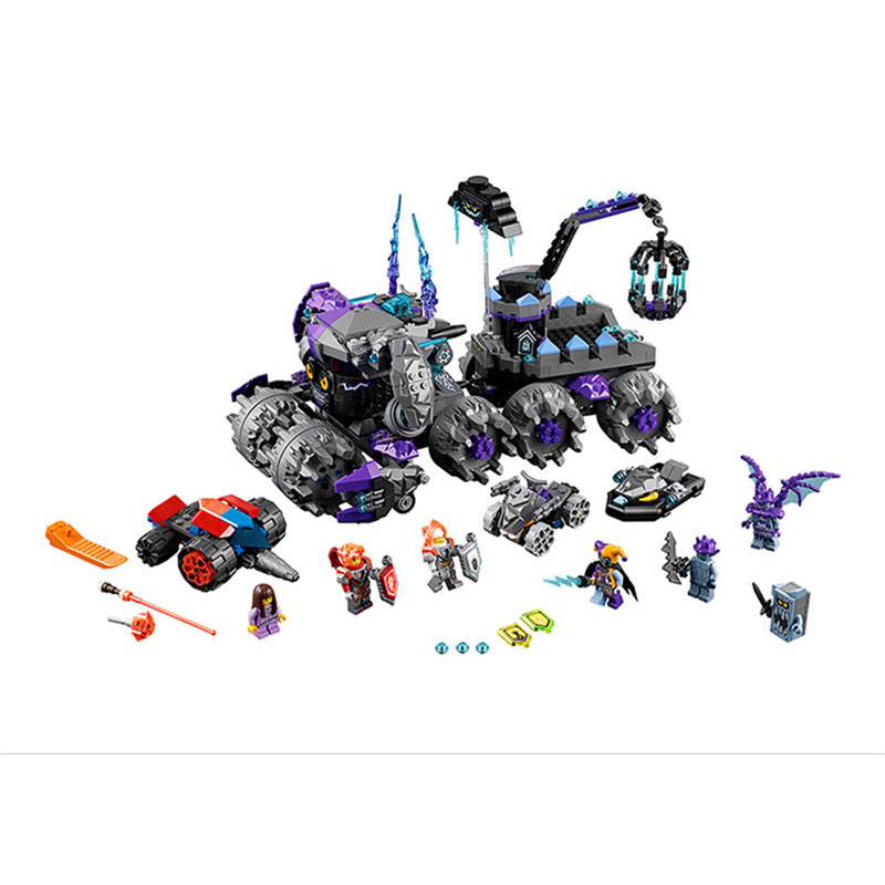 Bela Compatible Legoe Lepine Nexus Knights Jestro Headquarters Models Building Blocks Bricks Toys lepin 75821 pogo bela 10505 birds piggy cars escape models building blocks bricks compatible legoe toys