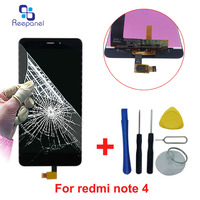 Touch Screen For Xiaomi Redmi Note 4 MTK Helio X20 Snapdragon 625 LCD Display Panel Digitizer
