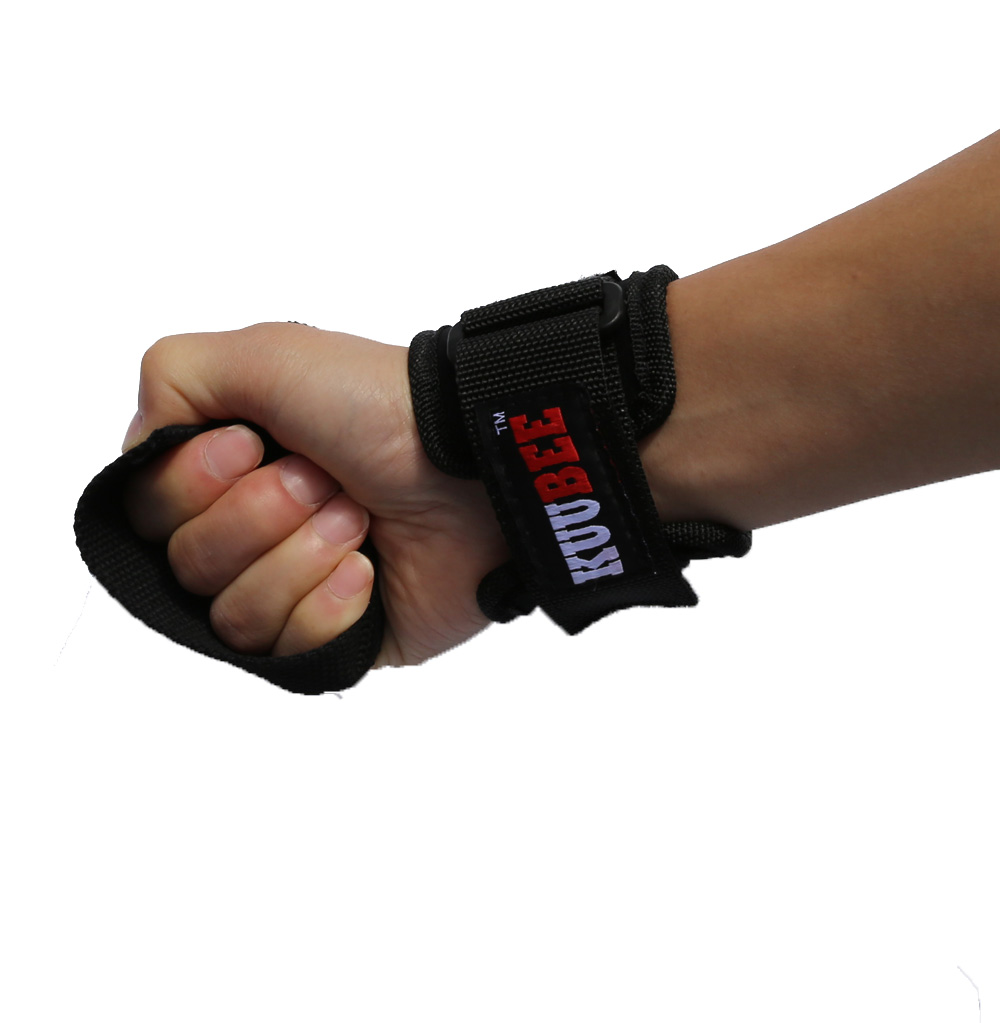 Weight Lifting Straps Anti-skid Workout Power Training Support Barbell belt Hand Bar Wrist Wrap bands
