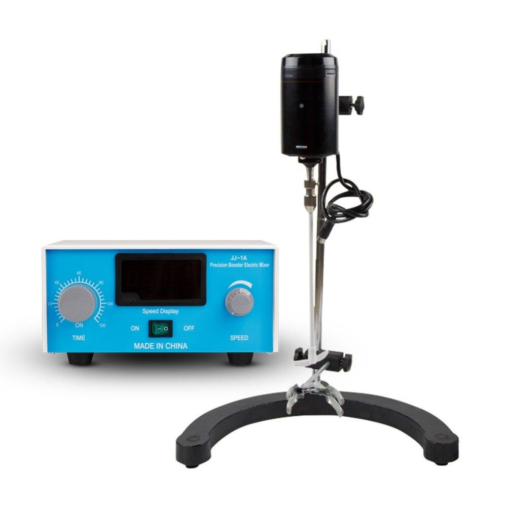 Digital Elétrica 0-3000 rpm Instrumento Científico Laboratório Agitador Misturador De Mistura De Líquidos Com Duas Barras de Agitação Timing Ajustável