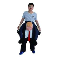 Funny Donald Trump Rider Costume Inflatable For Adults