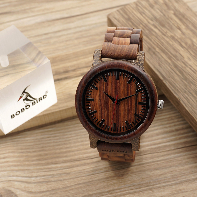 BOBO BIRD Μάρκα M17 Όλα τα ξύλινα ρολόγια - Ανδρικά ρολόγια - Φωτογραφία 5