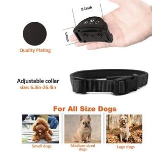 Image 5 - Paipaitek Dog Bark Collar No Shock Training Collar Sound Vibrate Bark Stop Collar for Small Medium Large Sized Dog Rechargeable
