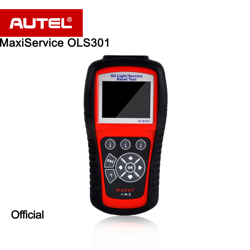 Autel MaxiService OLS301 Automatic Reset Tool OBDII EOBD coverage Resets Oil Service Light