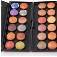 New Brand Professional Makeup 12 Colors 3D Baked Matte Naked Eyeshadow Palette Nude Beauty Glitter Eyes