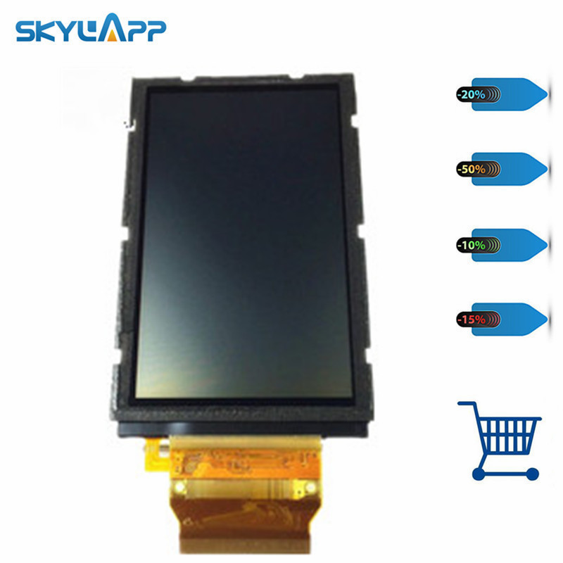 skylarpu 3 inch LCD screen for GARMIN APPROACH G5 Handheld GPS LCD display screen panel Repair replacement (without touch) skylarpu 2 4 inch vgg1216a9 b rev 1 lcd screen for garmin etrex 10 handheld gps lcd display screen panel repair replacement