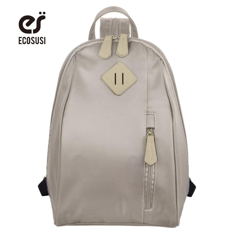 Ecosusi образец Рюкзаки для подростков Обувь для девочек милые Школьные ранцы для подростков Книга сумка для студентов Mochilas
