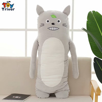 Unicorn Bear Pig Rabbit Penguin Koala Totoro Monkey Plush Toy Triver Stuffed Doll Boyfriend Long Pillow Cushion Bolster Gift