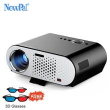 Newpal GP90 Projektor 3200 Lumenów Projektor TV 1280*768 P Android Bluetooth WIFI Mini LED Beamer Obsługuje KODI AC3 projektor