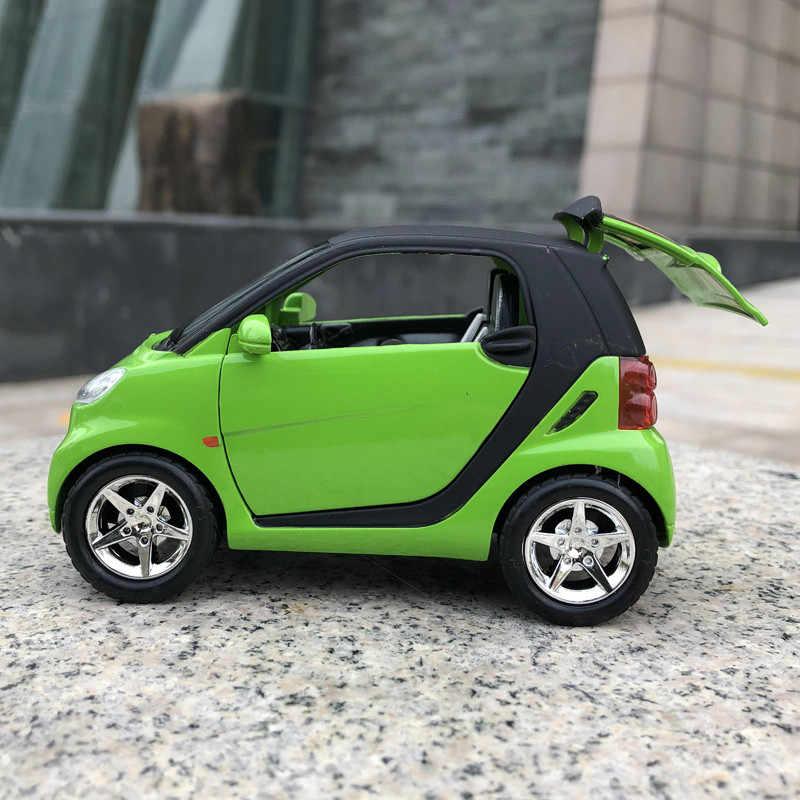 1:43 Alloy SMAR Dua Model Mini Mainan Mobil Simulasi Skala Lucu Menarik Kembali Diecast Mobil Anak Baru Mainan untuk Anak hadiah Ulang Tahun