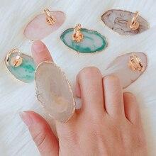 Оборудование для дизайна ногтей камень смолы 6 цветов дизайн ногтей кольцо с палитрой палец кольцо пластина акриловый УФ гель польский крем основа, смешивание