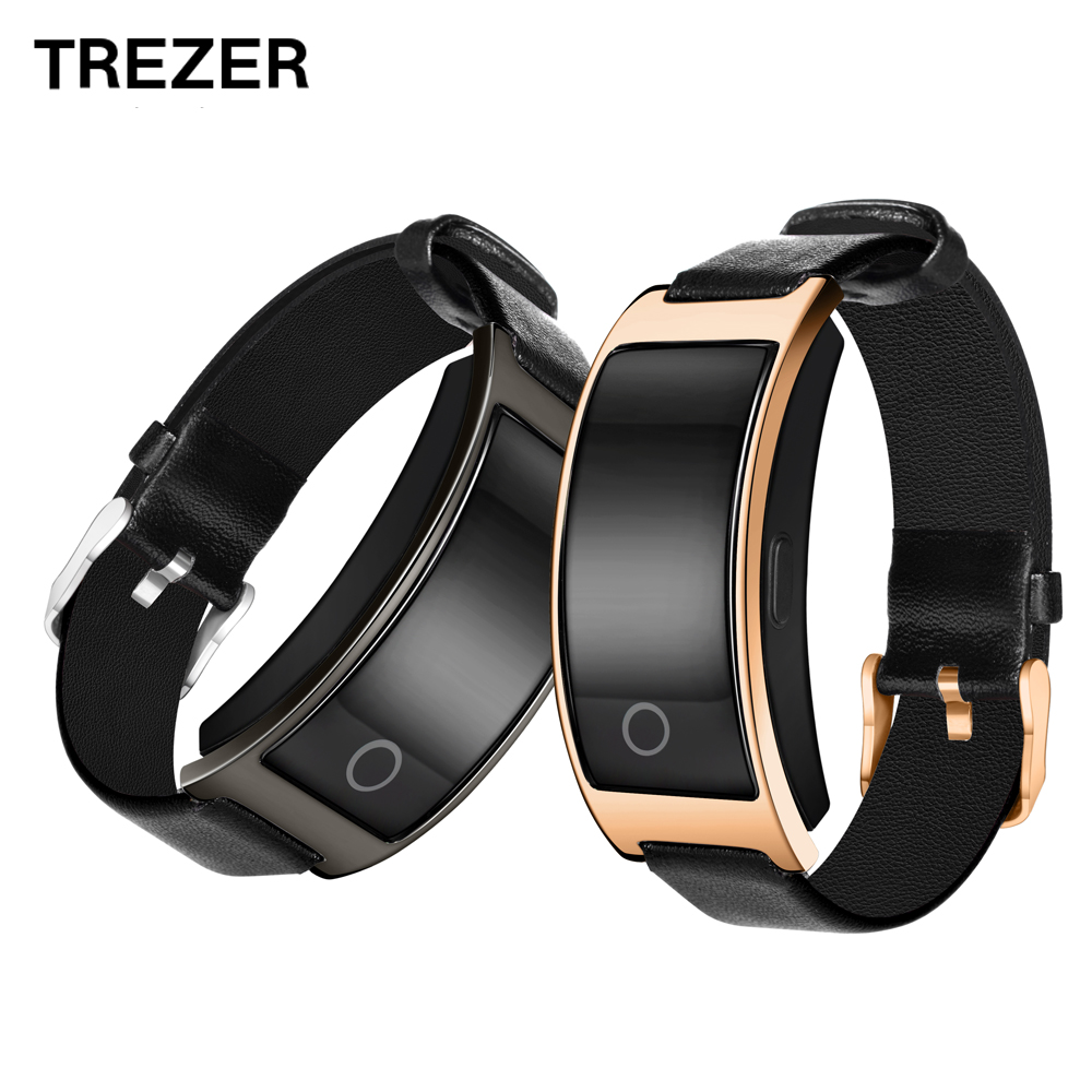 TREZER Smart Band Blood Pressure/Oxygen Smart Watch Heart Rate Monitor Smart Bracelet Fitness Watch IP67 Smart Wristband