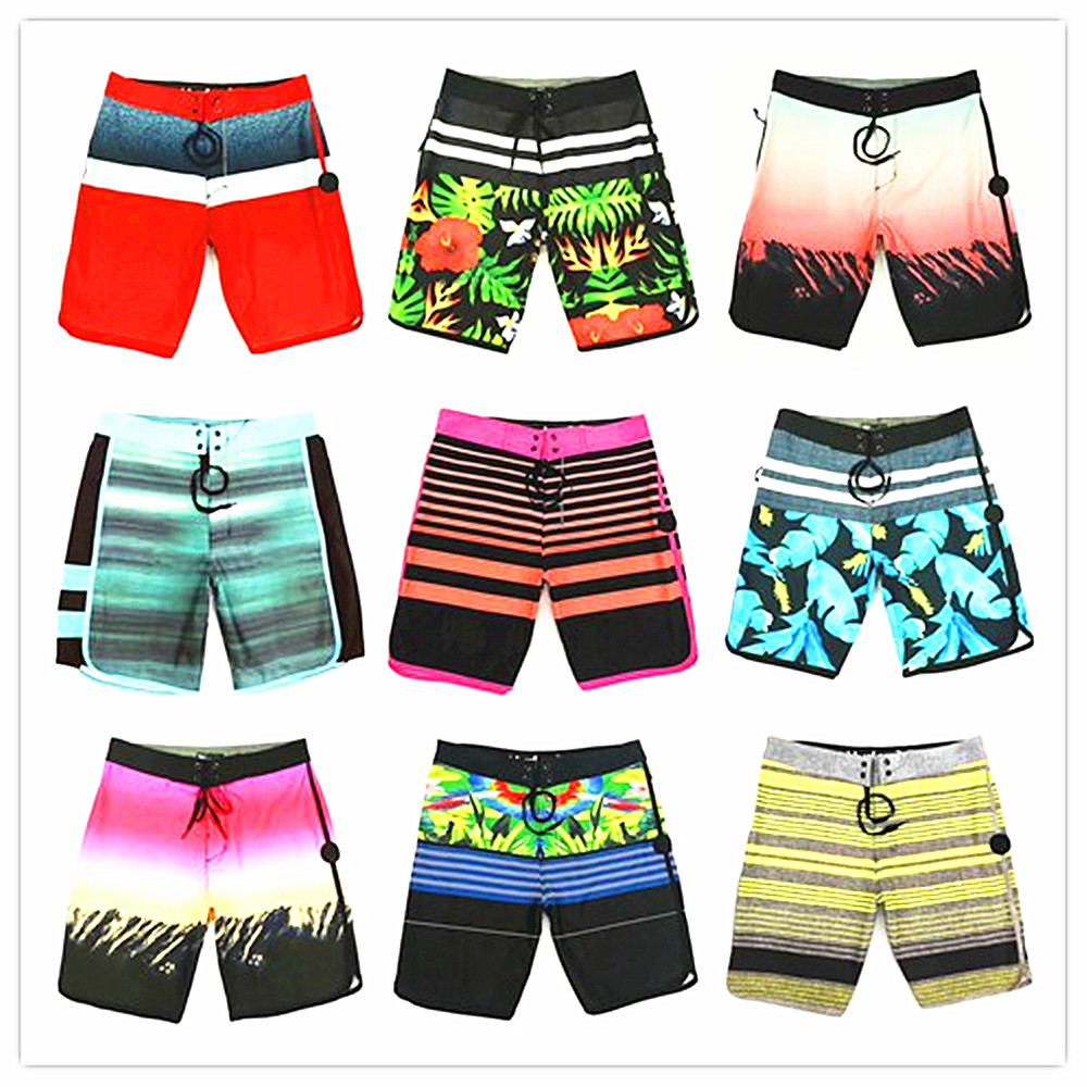 2019 Brand Phantom Elastic   Board     Shorts   Men 100% Quick Dry Boardshorts High Quality Beach   Shorts   Swimwear Mens Bathing   Shorts