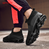 Hot Sale 2018 Fashion Adult Non slip Male Shoes High Quality Casual Shoes Men Breathable Sneaker Leisure Shoes Blade Trainers